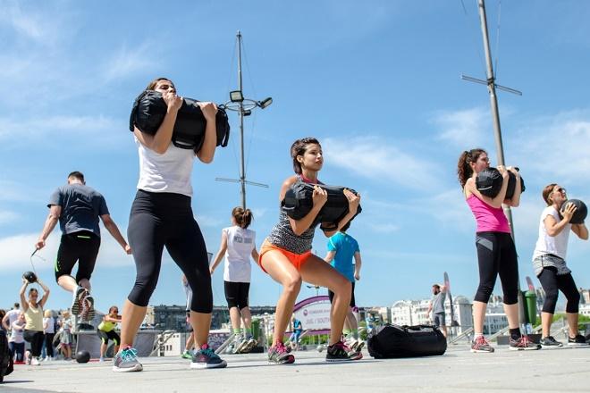Besplatni fitnes treninzi (foto: Aleksandar Dmitrović)