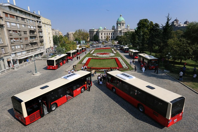 "Deset novih ""Mercedes"" autobusa"