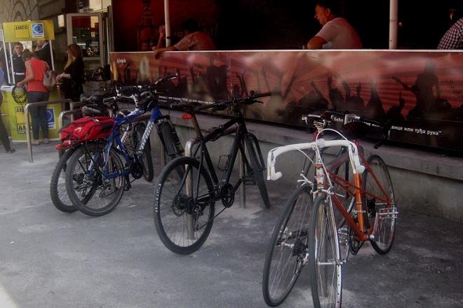 Parking mesta za bicikle