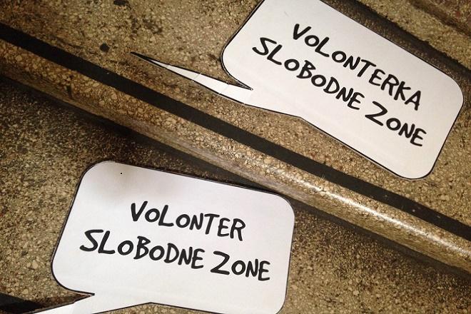 Slobodna zona - volonteri