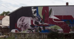 "Mural ""Srpska zastava"" - Francisko Bosoletiji (Francisco Bosoletti)"