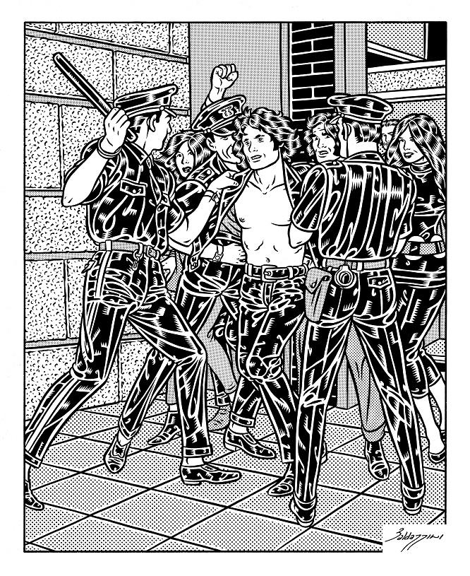 Dvadeset lakih komada: Roberto Baldacini - detalj iz stripa