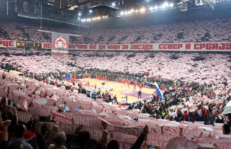 KK Crvena zvezda - Kombank arena