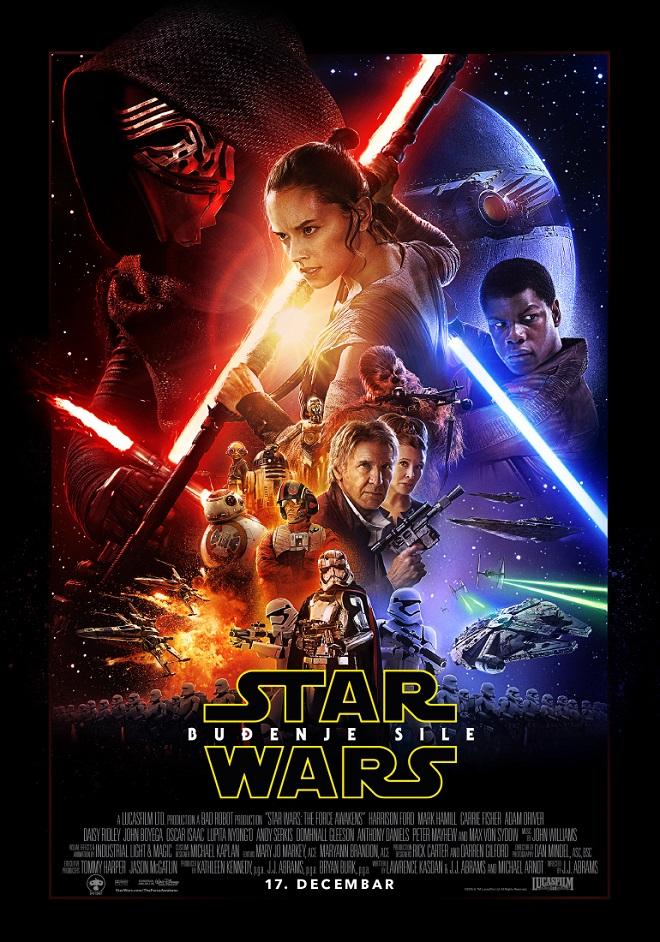 Star Wars - Buđenje sile; plakat