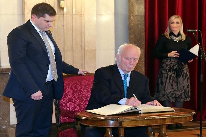 Torvald Stoltenberg - počasni građanin Beograda