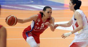 Košarkašice Srbije u Pioniru: Sonja Petrović (foto: kss.rs)