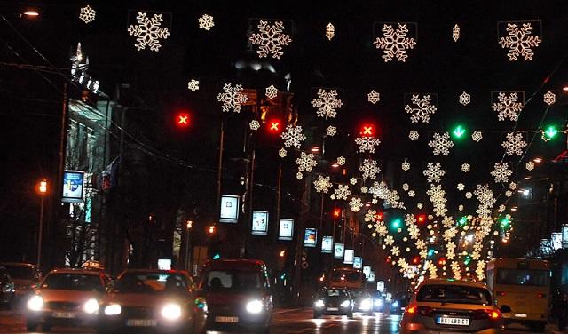 Nova godina u Beogradu - svečano osvetljenje