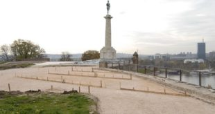 Spomenik Pobednik - radovi