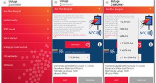 Plaćanje i očitavanje Bus Plus karte smart telefonom