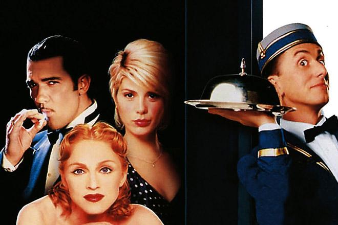 """""""Četiri sobe"""", omnibus, komedija, SAD, 1995."""