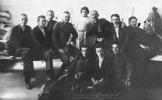 Muzej nauke i tehnike: Tifus 1915. godine