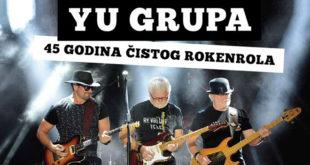 YU grupa 45 godina na sceni