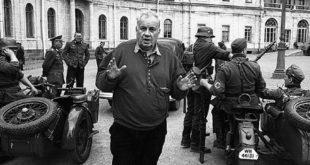 Eljdar Rjazanov na snimanju