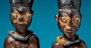Blizanci Afrike ibeđi, narod Joruba, skulpture