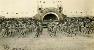 Slet i u Kraljevini Jugoslaviji. Sveslovenski slet u Beogradu, 1930. godine. Foto: mij.rs