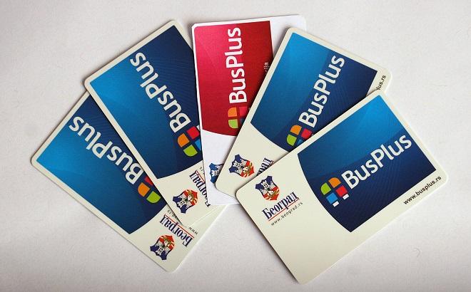 Bus plus kartice