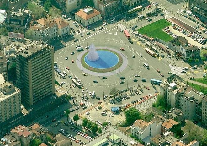 Trg Slavija - budući izgled