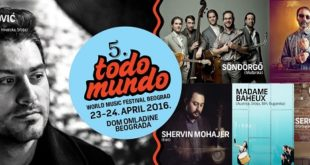 "5. World Music Festival ""Todo Mundo"""
