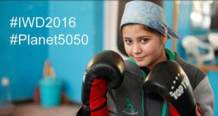 Devojka trenira boks u sali u Kabulu, Avganistan #Planet5050