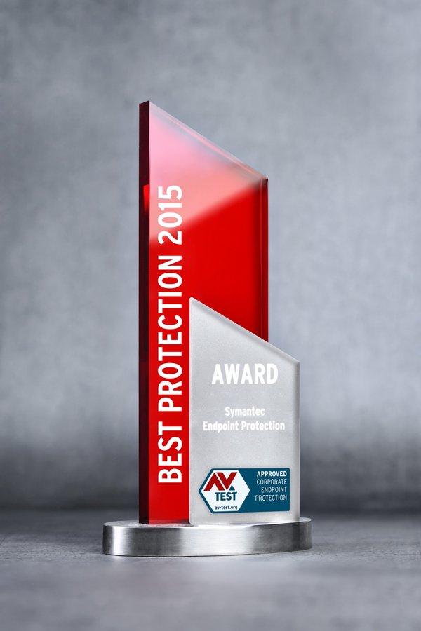 Nagrada za najbolju zaštitu 2015 za Symantec Endpoint Protection