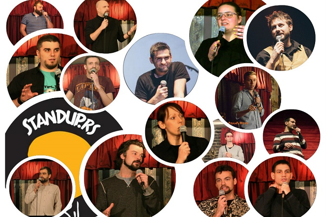 Aprilski stand up i mnogo komičara