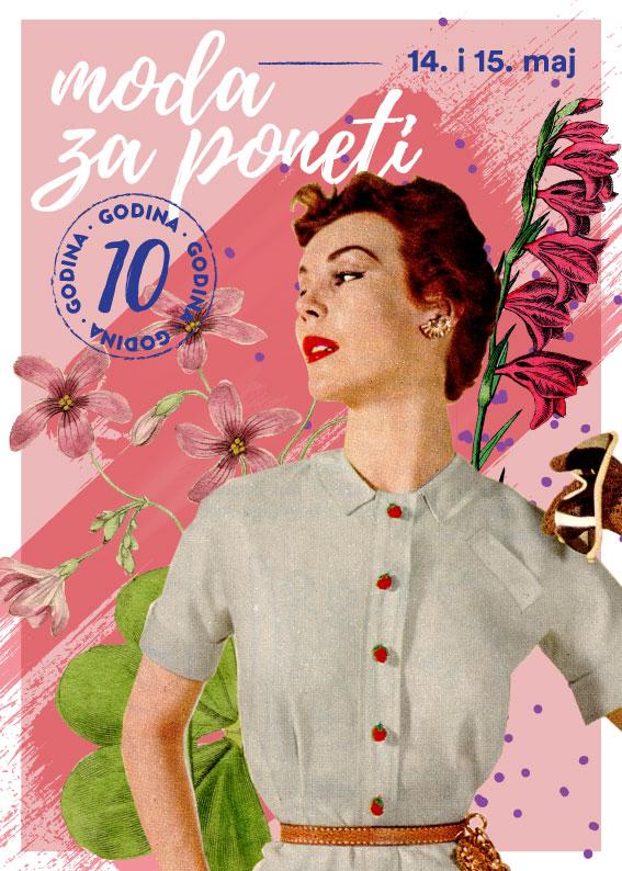 Moda za poneti - poster