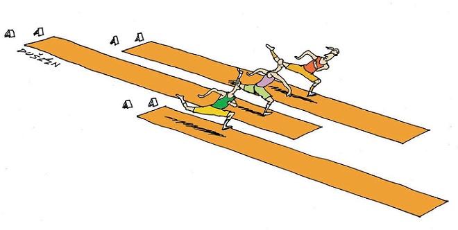 Zemunski salon karikature 2016: Olimpijske igre od antike do Brazila