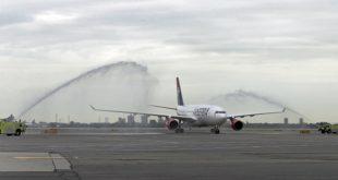 Air Serbia obavila prvi direktni let Beograd - Njujork