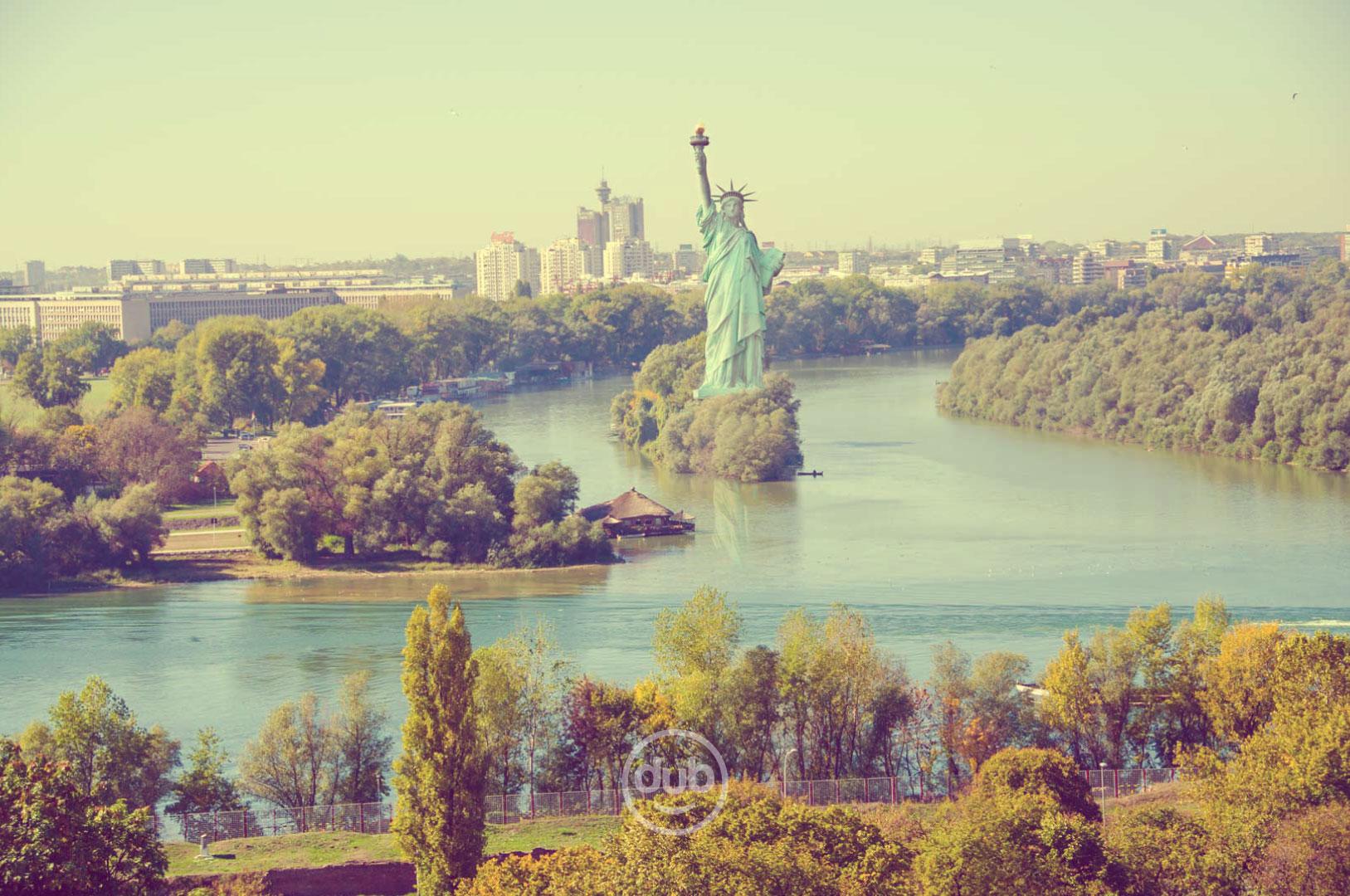ŠBBKBB: Svetske atrakcije u Beogradu - Kip slobode