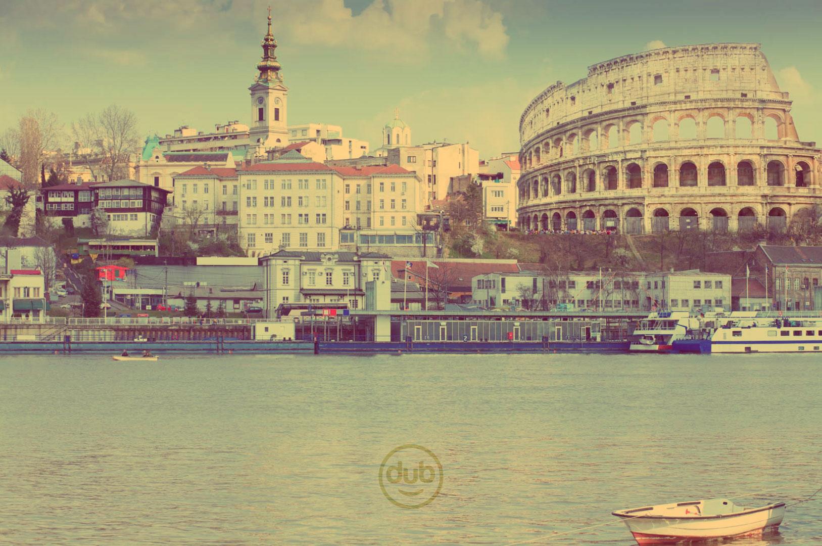 ŠBBKBB: Svetske atrakcije u Beogradu - Koloseum (foto: Shutterstock; montaža: Miloš Tripković)