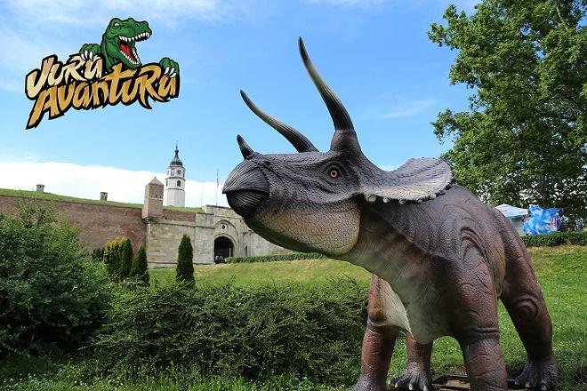 Dino park - Jura avantura na Kalemegdanu