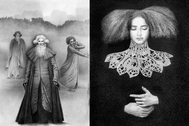 Izložba crteža Draženke Dade Čajić