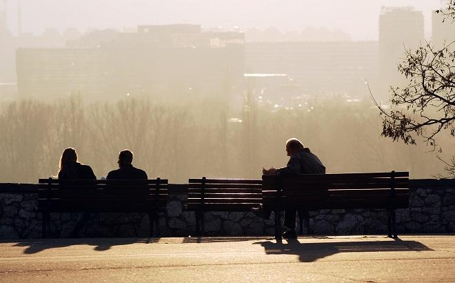 Posmatranje prolaznika... u Beogradu