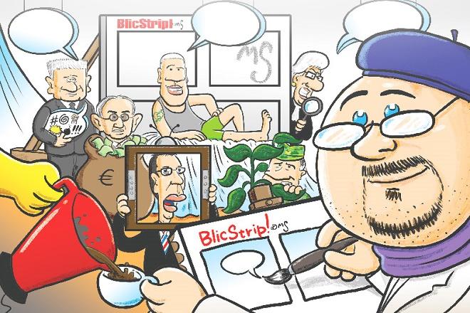 Izložba stripova Marka Somborca