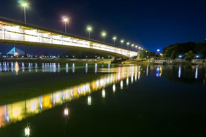 Noć u Beogradu (foto: Valerii Iavtushenko; Shutterstock)