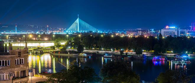 Noć u Beogradu - fotografije