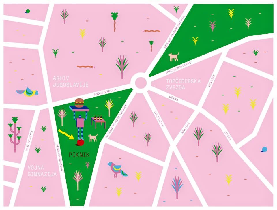 Topčiderska zvezda: Piknik