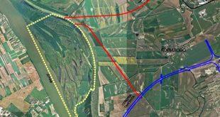 Nova luka, na mestu gde Kovilovo izlazi na Dunav