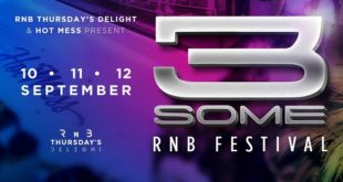 3Some RNB Festival, drugo izdanje