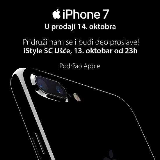 iPhone 7 - spreman za rezervacije
