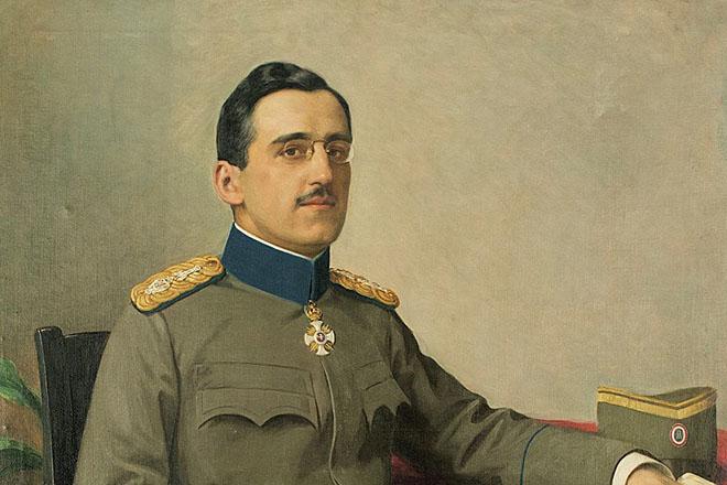Kralj Aleksandar I Karađorđević, detalj