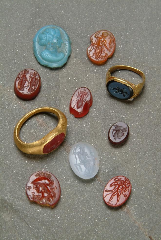 Rimski nakit: Geme i kameje, II-IV vek