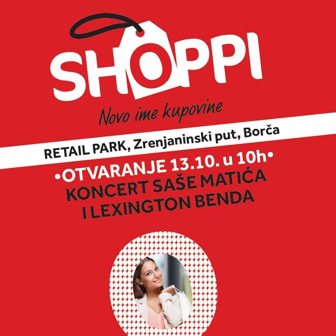 Shoppi Retail Park - otvaranje