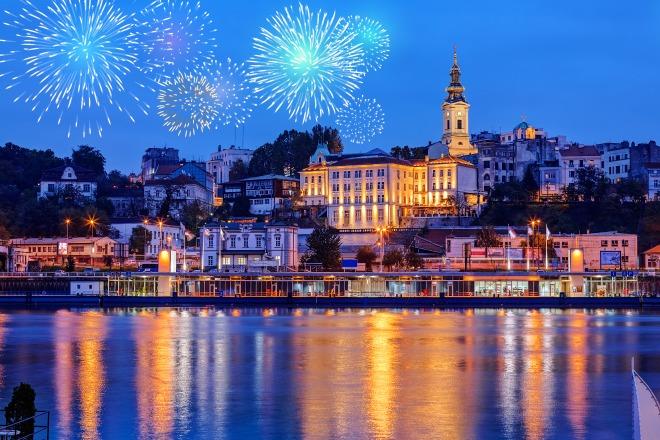 Novogodišnja čestitka 2017: Srećni dani u Beogradu!