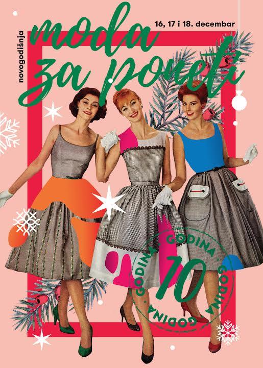 Novogodišnja Moda za poneti - plakat