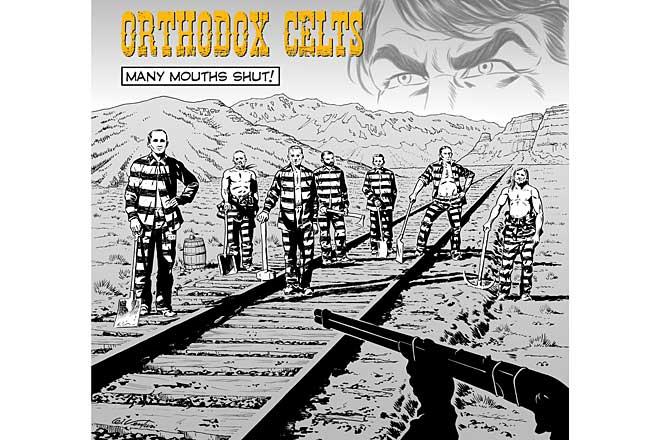 Orthodox Celts, omot novog albuma