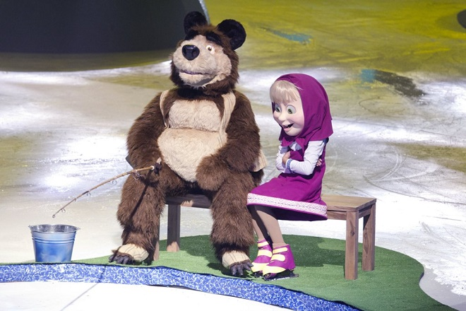 Maša i Medved na ledu