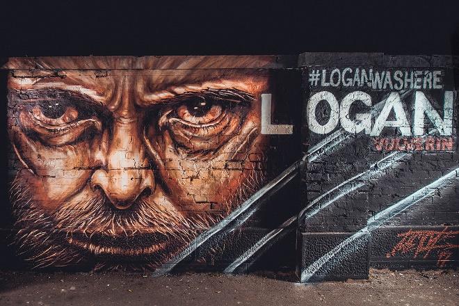 Logan - mural u Beogradu