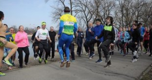 Beogradski maraton - javni trening