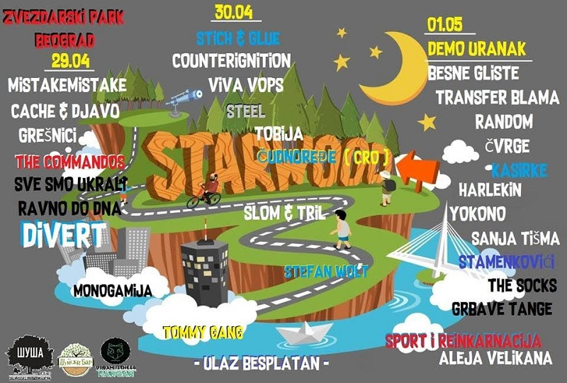 Starwood festival u Zvezdarskoj šumi